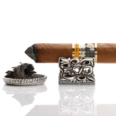 JAY TSUJIMURA Silver Cigar Leaves Collection