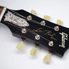 Floral  トラスロッドカバー for Gibson