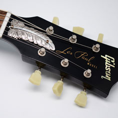 Feather トラスロッドカバー for Gibson